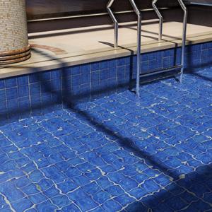 Bali Azul Porcelain Floor & Wall Mosaics
