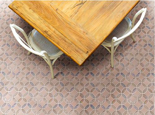 Creole Base Porcelain, Glass Floor & Wall Mosaics