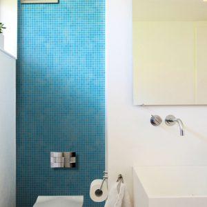 Azure Glass Wall Mosaics