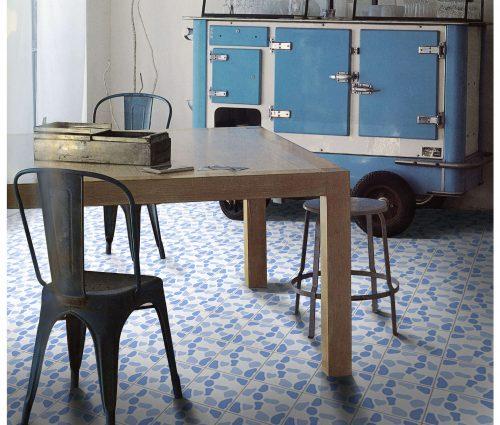 Pebble Azul Floor & Wall Tiles