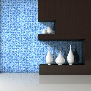 Sky Glass Wall Mosaics