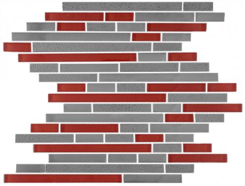 Visha Rosso Mosaic Tile