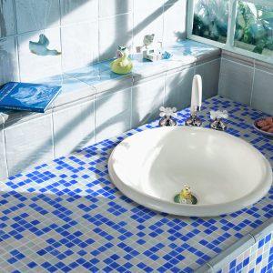 Pearl Glass Wall Mosaics