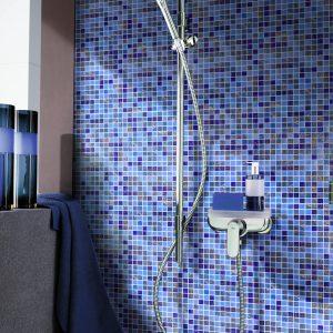 Sapphire Glass Wall Mosaics