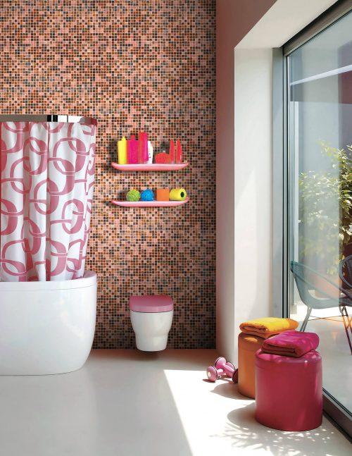 Truffle Glass Wall Mosaics