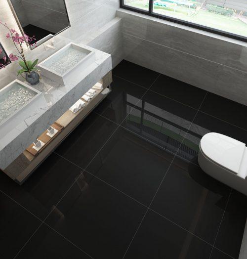 Super Black Floor & Wall Tiles